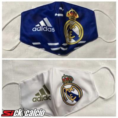 2 Pezzi Real Madrid 3m20 Mascherine Antipolvere FFP2 Di Protezione