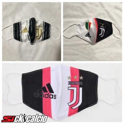 3 Pezzi Juventus 3m42 Mascherine Antipolvere FFP2 Vie Respiratorie