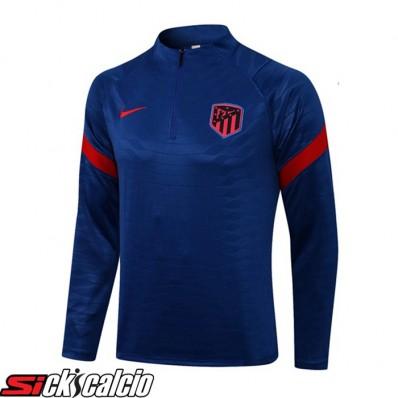 Felpa Allenamento Atletico Madrid Blu 2021/2022