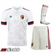 Kit Maglie Calcio Belgio Seconda (Pantaloncini+Calzettoni) 2020/2021
