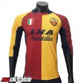 Maglie Calcio AS Roma Retro Prima 2001/2002