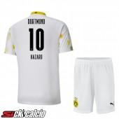 Maglie Calcio Dortmund BVB (HAZARD 10) Bambino Terza 2020/2021