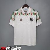 Maglie Calcio Galles Retro Seconda 1990/1992