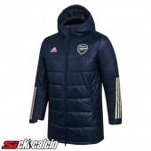 Piumino Calcio Arsenal Blu Marino 2020/2021