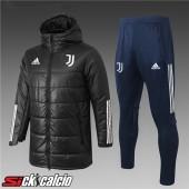 Piumino Calcio Juventus Nero + Pantaloni 2020/2021