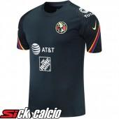 T Shirt Allenamento Club America Nero 2021/2022